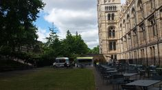 Icecream van - traditional style, coffee & cake stand - trailer style and BBQ stand - all branded (Natural History Museum)