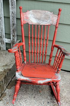 Itsy Bits and Pieces: Vintage on the Front Porch...and a Winner...