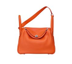 Evelyne III Hermes shoulder bag in casaque red taurillon clemence ...