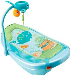 Summer Infant Ocean Buddies NewborntoToddler Baby Tub with Toy Bar >>> Check out this great product.Note:It is affiliate link to Amazon.