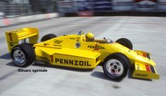 Rick Mears - Penske PC15 Chevrolet A - Team Penske - Toyota Grand Prix of Long Beach - 1986 PPG Indy Car World Series, round 2 - © Marc Sproule