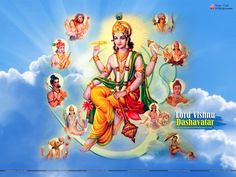Dashavatar Wallpapers, Images & Photos Free Download Hindu Deities, Hinduism, Krishna Mantra, Lord Vishnu Wallpapers, Photos For Facebook, Images Photos, Pictures, Wallpaper Backgrounds, Gallery