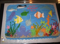 Coolest Under the Sea Birthday Cake Ideas