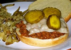 Venison sloppy joes- great game blog
