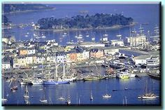 Douarnenez, Brittany in France.