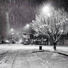 Rome Georgia snow