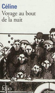 Premier roman de Louis-Ferdinand Céline, nourri de son expérience de la première guerre mondiale et où l'on voit Bardamu traverser cet « abattoir international en folie »...
