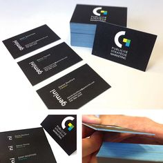 The Gemini agency created a new platform with its new signature. Compared with the regular business cards, by receiving their card, the customer immediately realizes his quality and sound unequalled weights by no other one.