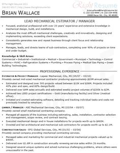 Environmental Health  Safety Sample Resume  Civil Engineering