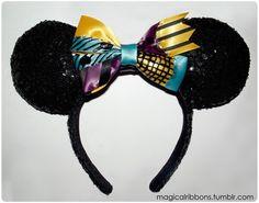Custom Minnie Ears Example - Sally Bow