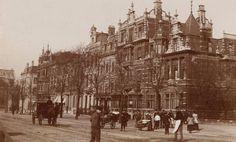 Sarphatistraat 1-15, kort na de bouw in 1888-1889.