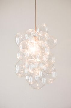 DIY: Bubble Chandelier