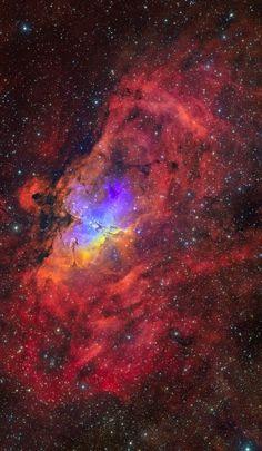 M16 Eagle Nebula in Serpens