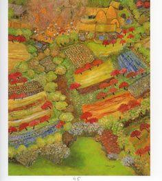 battage au village. de Lucien Pouëdras