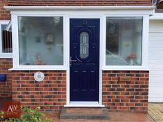 Front Door Ideas | Composite Front Doors | Rockdoors | Blue Front Doors | Classic Front Doors | Traditional Front Doors