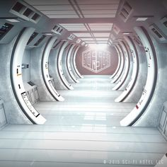 Welcome to Sci-Fi Hotel #ThisisScifi #scifihotel #dubai #london #seattle #newyork