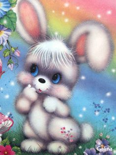 SO CUTE! I was the Easter Bunny several times and places! My favorite was at the mall! All the people run up and hug you! I also enjoyed singing and handing out balloons and bunny ears! Easter Pictures, Gif Pictures, Cute Pictures, Cute Easter Bunny, Easter Art, Happy Easter, Gif Mignon, Cute Gifs, Bunny Images