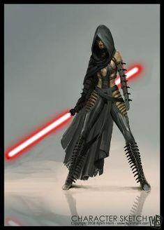 Tagged with star wars, dark side, sith; Return of the Sith Star Wars Sith, Star Wars Rpg, Jedi Sith, Sith Lord, Sith Armor, Darth Maul, Darth Sith, Dark Fantasy, Female Sith