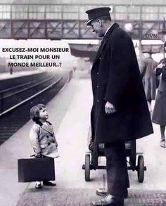 El tren que lleva a un mundo mejor?