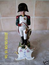 "Vintage grande 12"" Nápoles/Capodimonte soldado Figura #8"