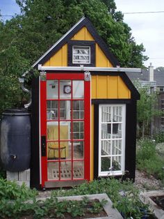 dyi green house   DIY Repurposed Windows Greenhouse   The Owner-Builder Network