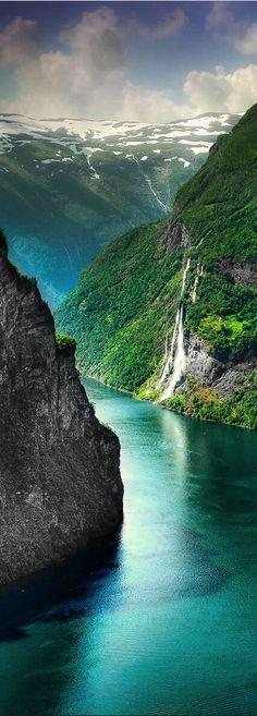 Fjord . Norway