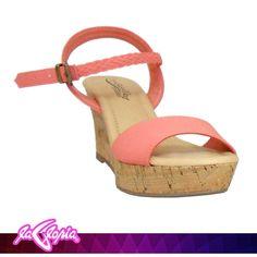 ¡A lucir tus pies! Con estas #Sandalias #Plataforma #Calzado #Damas 1er.Semi-Piso