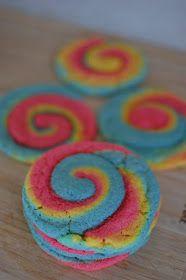 Food, Fun & Life: Rainbow Swirl Cookies