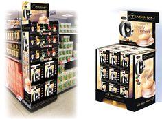 Kraft Tassimo coffee display units