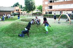 The Haye Playground, Mortar&Pestle Design, Southwark London, 2010 - Playscapes