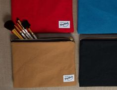 Jane Pouch by Grey Goods on Little Paper Planes $38