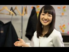How to Fold Shirts & Tank Tops | KonMari Method by Marie Kondo - YouTube