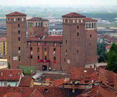Acaja Castle of Fossano, Cuneo, Piemonte, Italia