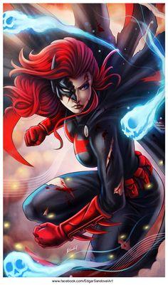 "edgarsandoval: ""Batwoman by EdgarSandoval.........!!!! """