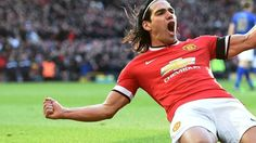 Manchester United have burst into life and Radamel Falcao adds a second with the simplest of tap-ins. 2-0