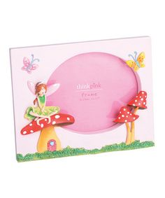 Take a look at this Woodland Fairy Picture Frame by Thinkpink on #zulily today!