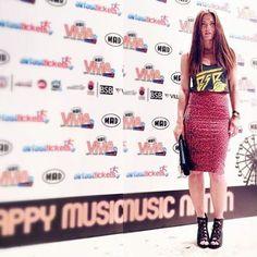 Seems like Mary Sinatsaki was mixing & matching yesterday @ MAD VMA '14 kick off party! #BSB_SS14 #madvma14