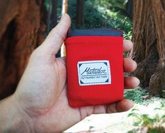 The Matador Pocket Blanket is just that. It's a pocket sized blanket that's water repellent. Buy it from the Matador online store.