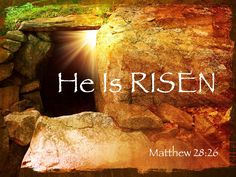 Happy Resurrection Sunday!! ♥  {He is RISEN}
