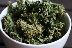 RAW Recipe: Pizza Kale Chips