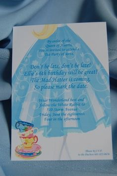 """Photo 1 of 13: Alice in Wonderland / Birthday """"Alice in Wonderland Whimsical Tea Party"""" 