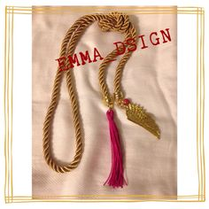 Collares Necklace hecho a mano