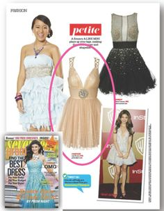 Our Sister Collection, Josh and Jazz, featured in Seventeen Prom edition. 2013-2014 Prom Season.