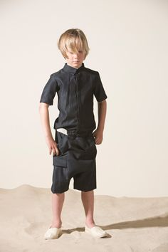 Unique cool cuts at Ine de Haes summer 2016 kidswear