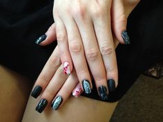 Day 302: Blood Splatter Nail Art - - NAILS Magazine