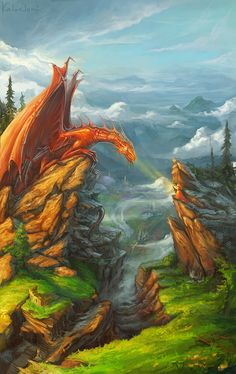 dragon by ~KalaNemi on deviantART