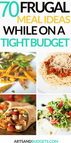 70 Frugal Meal Ideas For A Tight Budget. 70 cheap and Frugal Meal Ideas For A Tight Budget. Are you currently looking for frugal meals on a tight budget? This post shares over 70 different meal ideas that you can try this week. Budget Meal Planning, Cooking On A Budget, Food On A Budget, Budget Meal Prep, Easy Cooking, Aldi Meal Plan, Cooking Pasta, Cooking Light, Healthy Cooking