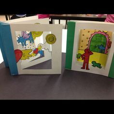 Accordion fold Keith haring books