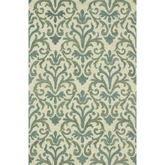 Shop for Hand-Tufted Meadow Ivory/ Lt. Blue Wool Rug (9'3 x 13). Get free delivery at Overstock.com - Your Online Home Decor Destination! Get 5% in rewards with Club O!