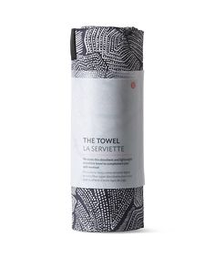 The towel-  We made this absorbent and lightweight microfibre towel to complement your daily workout. $84